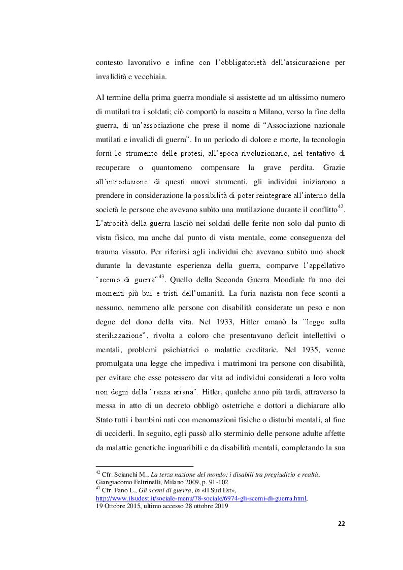 Anteprima della tesi: I valori familiari alla prova della disabilità. Realtà e narrazione cinematografica, Pagina 8