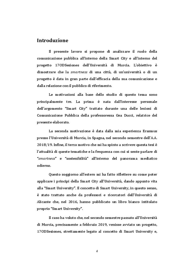 Anteprima della tesi: Smart University - La comunicazione pubblica istituzionale a supporto della sostenibilità nel contesto universitario, Pagina 2