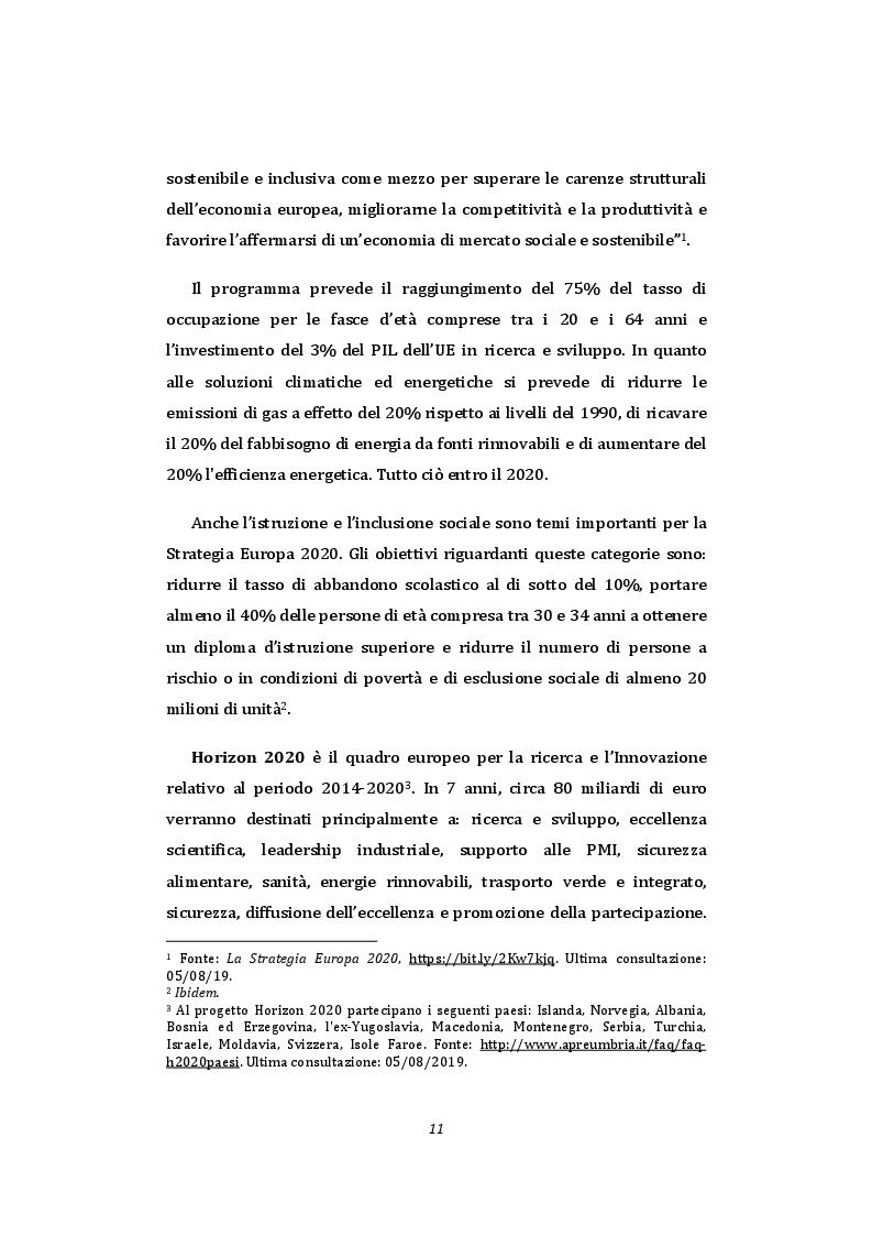 Anteprima della tesi: Smart University - La comunicazione pubblica istituzionale a supporto della sostenibilità nel contesto universitario, Pagina 9