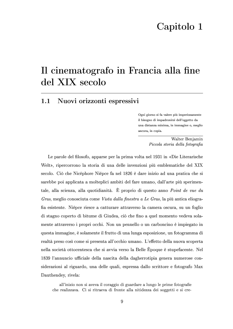 Anteprima della tesi: La madrina dello schermo magico: Alice Guy e il cinema delle origini, Pagina 6
