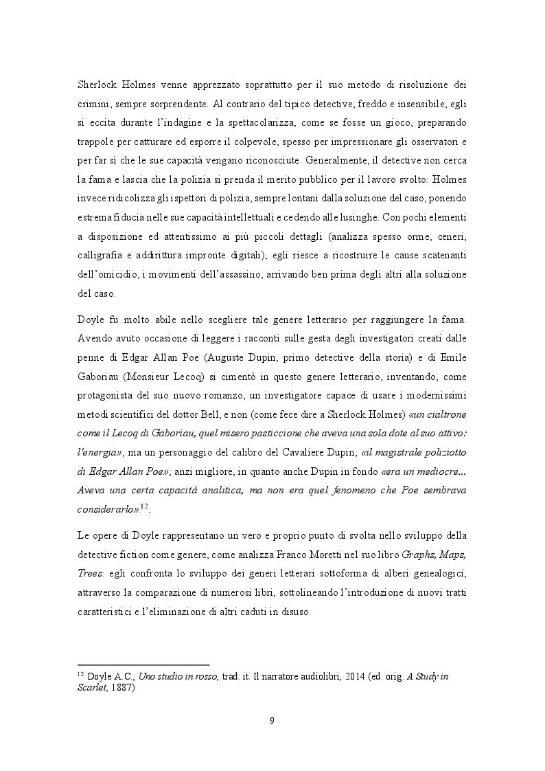 Estratto dalla tesi: Analisi traduttologica della serie BBC ''Sherlock''