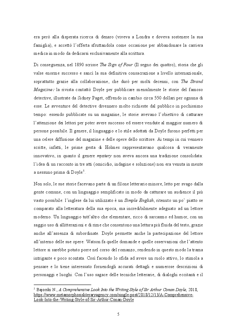 Anteprima della tesi: Analisi traduttologica della serie BBC ''Sherlock'', Pagina 6