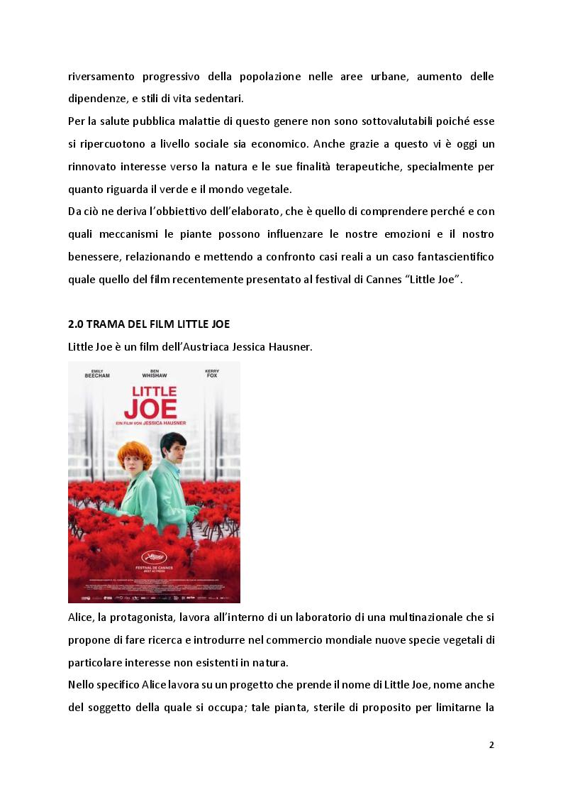 Anteprima della tesi: Little Joe: Mondo vegetale tra fantascienza e realtà, Pagina 4