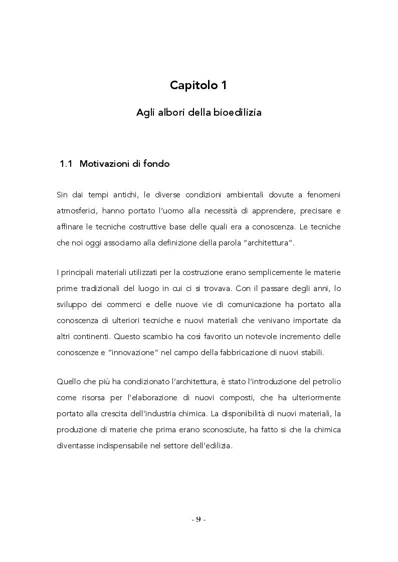 Anteprima della tesi: La bioedilizia come possibile approccio alla riduzione delle problematiche ambientali delle costruzioni, Pagina 4