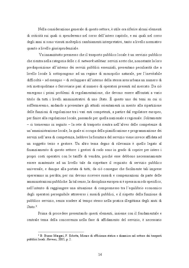 Estratto dalla tesi: La gestione del trasporto pubblico locale. Un'analisi comparata tra Roma e Londra