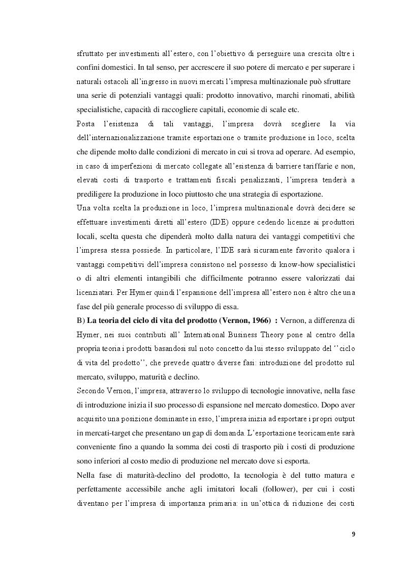 Anteprima della tesi: Strategie del Made In Italy: Un confronto tra USA e Cina, Pagina 6