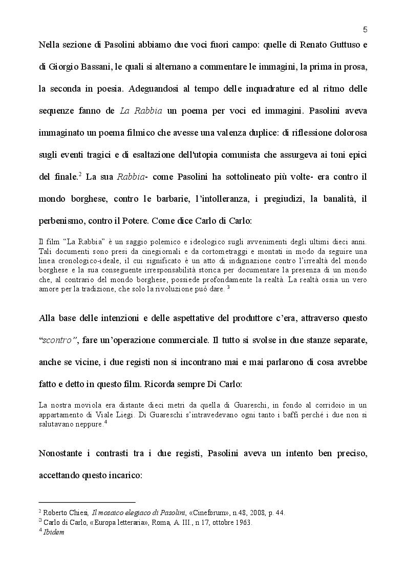Anteprima della tesi: La rabbia di Pasolini: genesi, restauro ed iconografia di un film sperimentale, Pagina 3