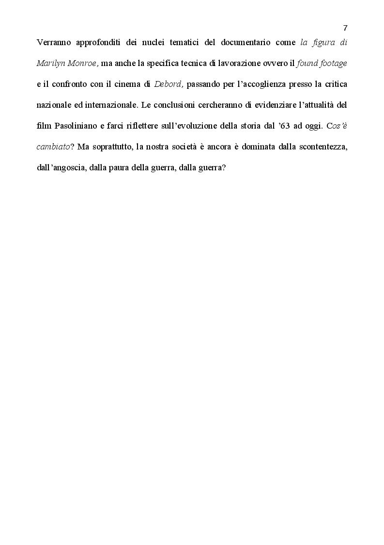 Anteprima della tesi: La rabbia di Pasolini: genesi, restauro ed iconografia di un film sperimentale, Pagina 5