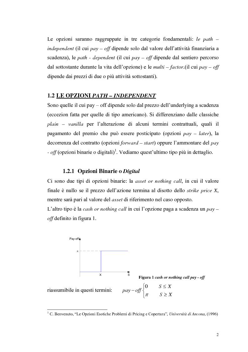 Anteprima della tesi: L'analisi del profilo di rischio ed il pricing di un titolo index-linked attraverso la simulazione Monte Carlo, Pagina 2