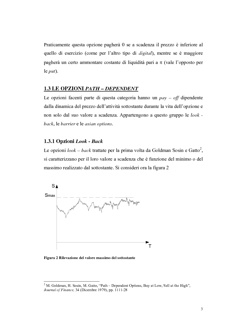Anteprima della tesi: L'analisi del profilo di rischio ed il pricing di un titolo index-linked attraverso la simulazione Monte Carlo, Pagina 3