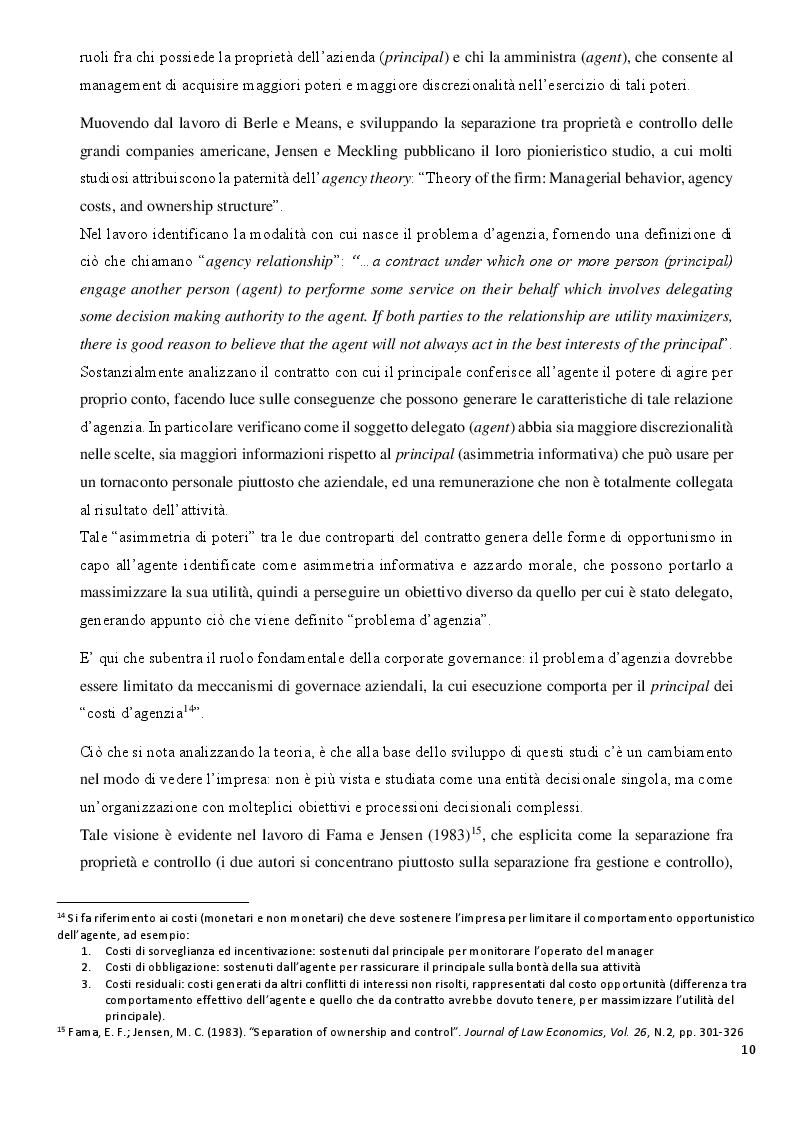 Estratto dalla tesi: La Diversity nel Board: analisi dell'impatto sulla performance aziendale nella Zona Euro