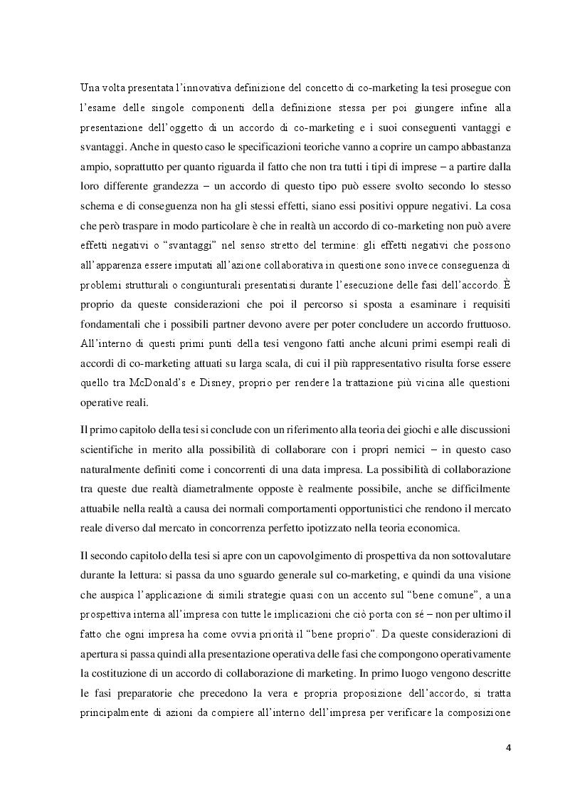 Anteprima della tesi: Il co-marketing: metodologia del marketing del cambiamento, Pagina 3