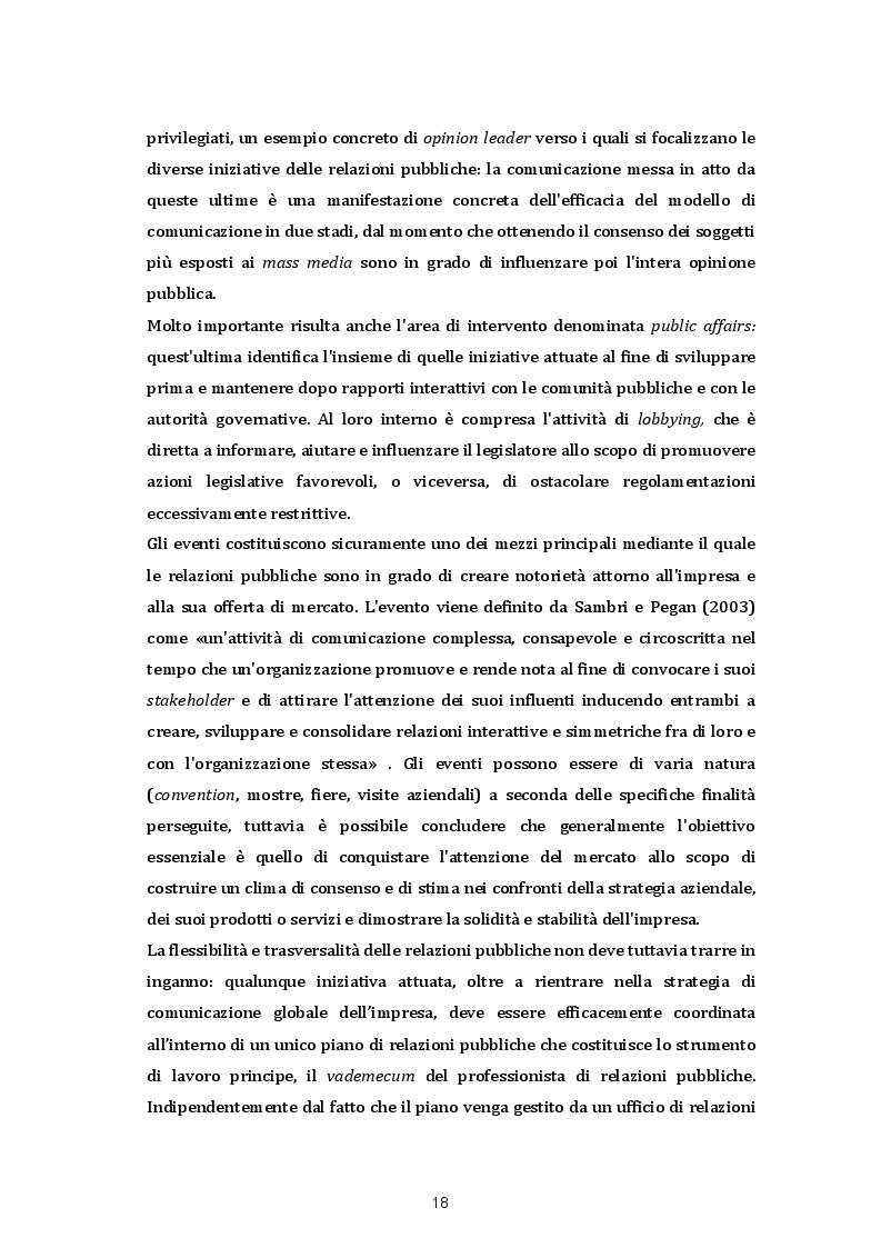 Estratto dalla tesi: Le strategie di comunicazione sul punto vendita: Il caso SISA Centro Sud s.p.a