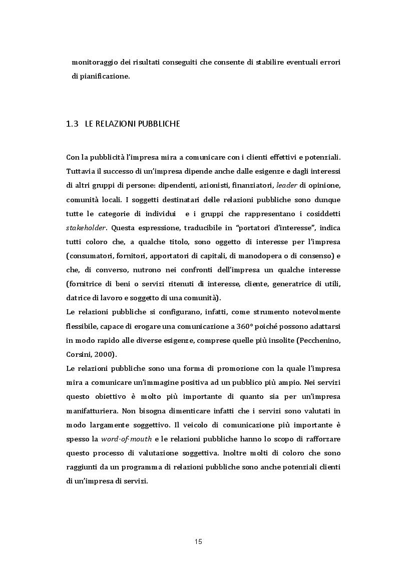 Anteprima della tesi: Le strategie di comunicazione sul punto vendita: Il caso SISA Centro Sud s.p.a, Pagina 10