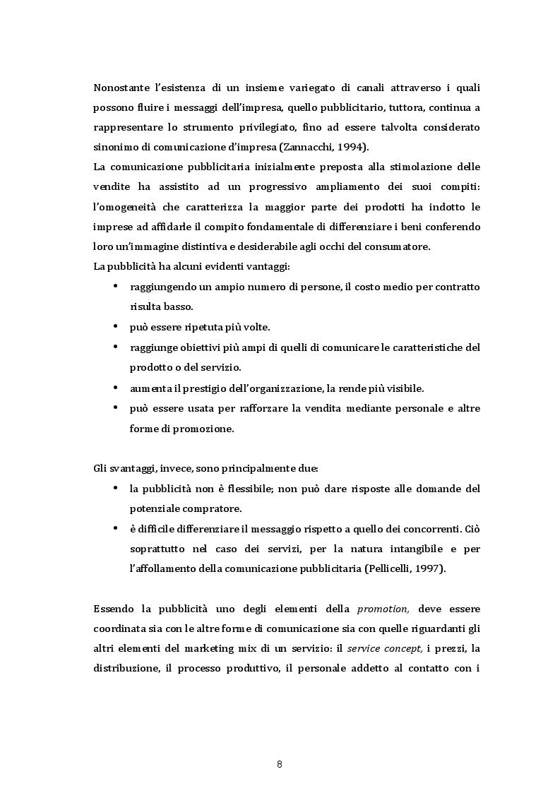 Anteprima della tesi: Le strategie di comunicazione sul punto vendita: Il caso SISA Centro Sud s.p.a, Pagina 3