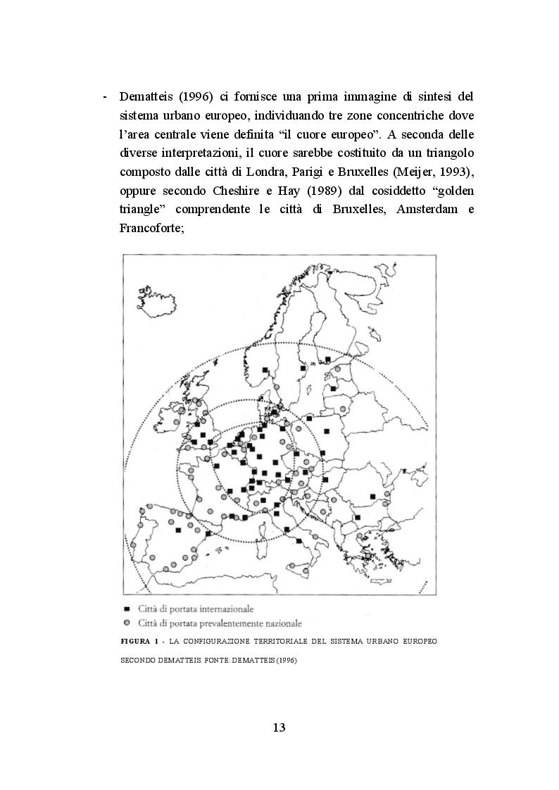 Anteprima della tesi: La politica di coesione europea per le aree urbane: attuazione, impatto e prospettive, Pagina 10