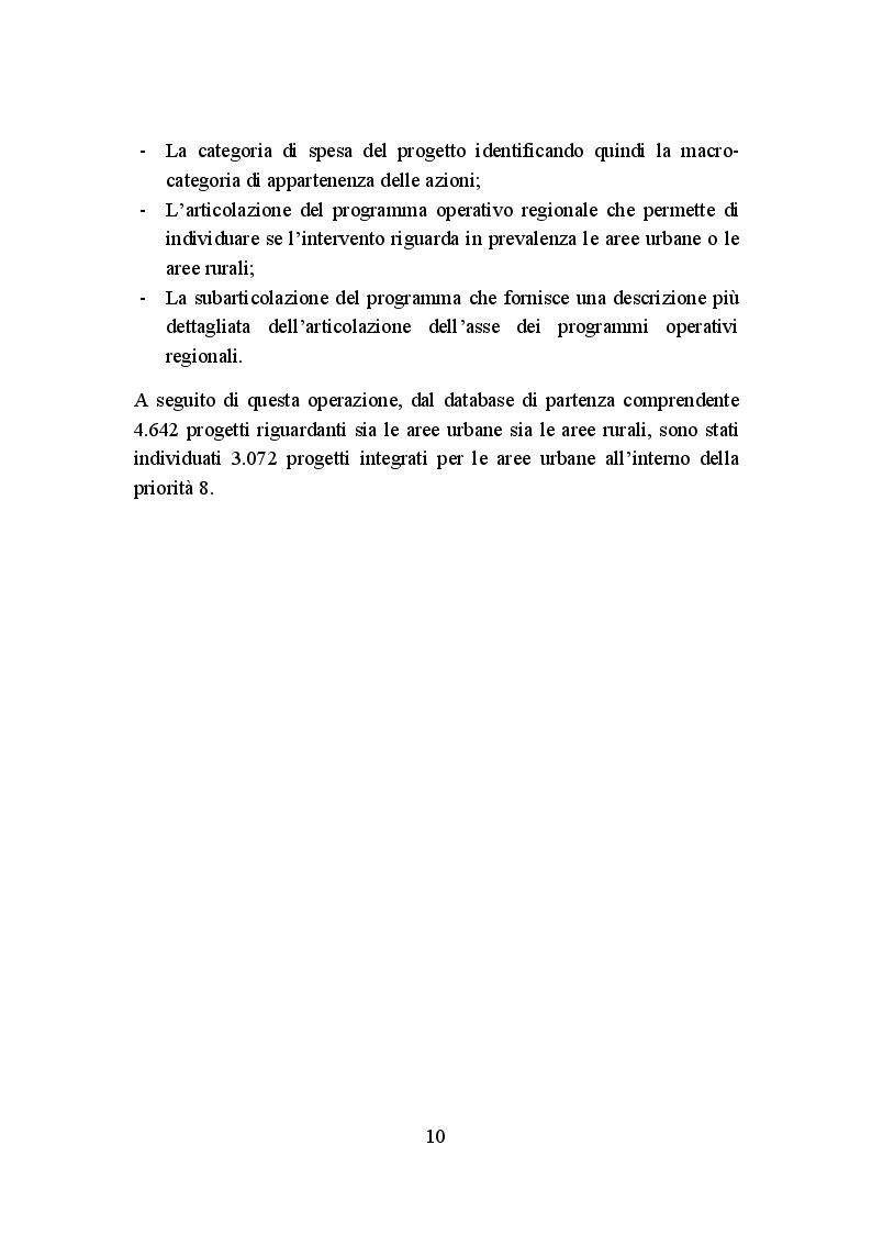 Anteprima della tesi: La politica di coesione europea per le aree urbane: attuazione, impatto e prospettive, Pagina 7