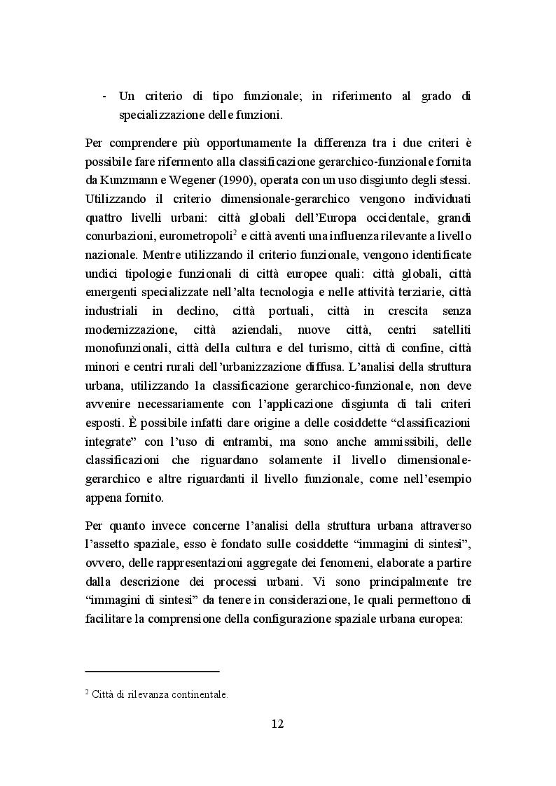 Anteprima della tesi: La politica di coesione europea per le aree urbane: attuazione, impatto e prospettive, Pagina 9