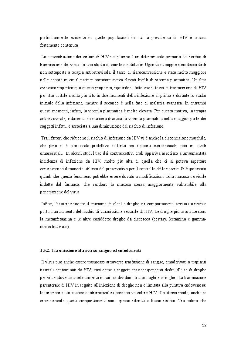 Estratto dalla tesi: Profilassi pre-esposizione (PrEP): il ruolo dell'Infermiere nella prevenzione dell'infezione da HIV