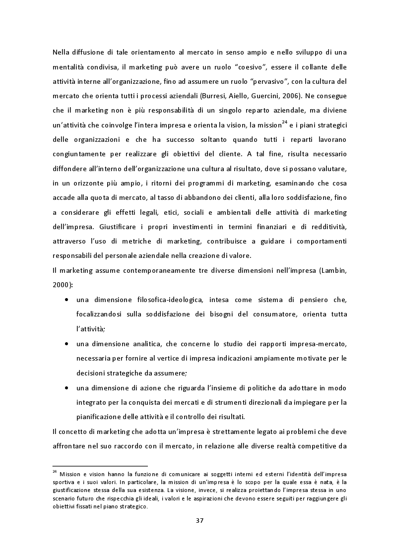 Anteprima della tesi: Prospettive di crescita del Campionato di SuperLega. La necessità di un percorso virtuoso a tre protagonisti: pubblico, società e Lega Pallavolo Serie A, Pagina 4