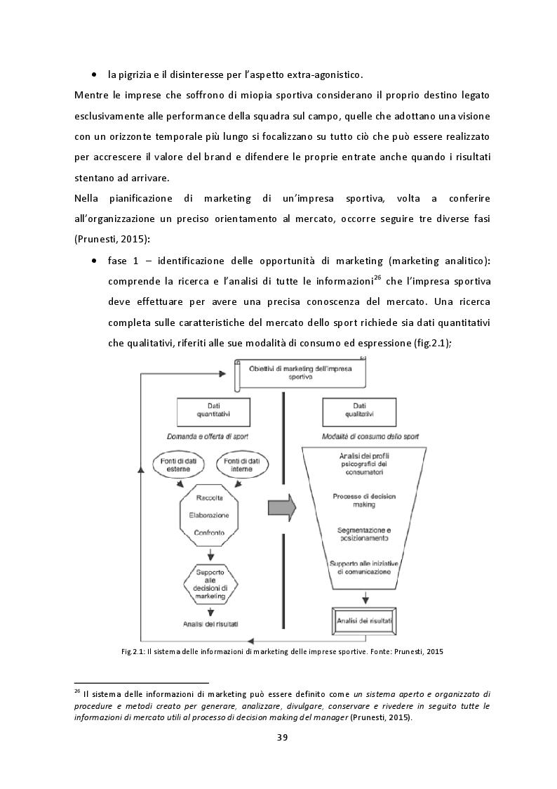 Anteprima della tesi: Prospettive di crescita del Campionato di SuperLega. La necessità di un percorso virtuoso a tre protagonisti: pubblico, società e Lega Pallavolo Serie A, Pagina 6