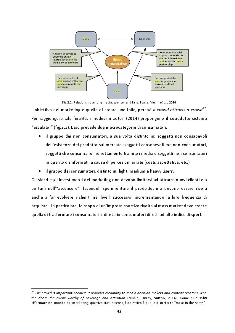 Anteprima della tesi: Prospettive di crescita del Campionato di SuperLega. La necessità di un percorso virtuoso a tre protagonisti: pubblico, società e Lega Pallavolo Serie A, Pagina 9
