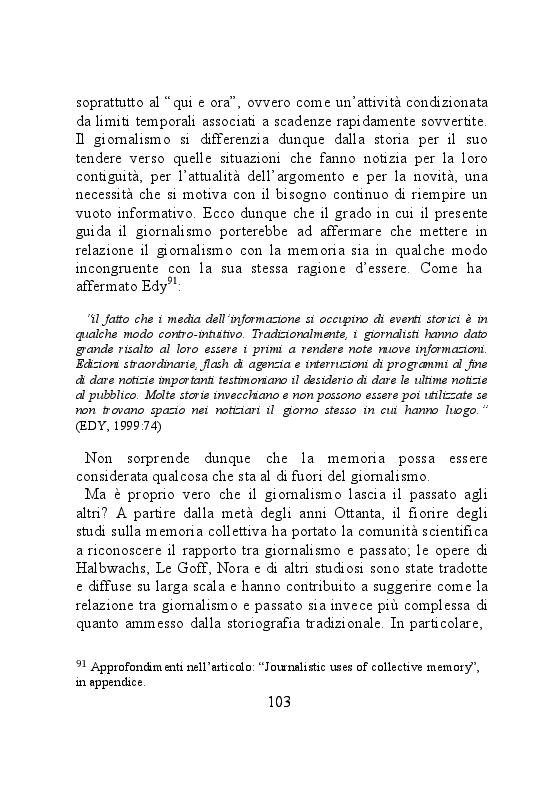 Anteprima della tesi: Carta stampata e memoria pubblica. Analisi delle stragi che hanno cambiato il mondo, Pagina 3
