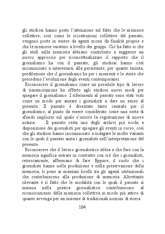 Anteprima della tesi: Carta stampata e memoria pubblica. Analisi delle stragi che hanno cambiato il mondo, Pagina 4