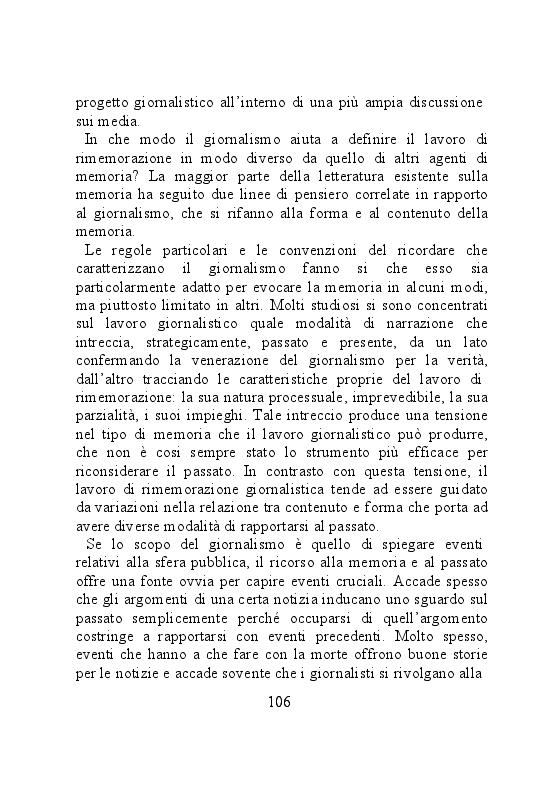 Anteprima della tesi: Carta stampata e memoria pubblica. Analisi delle stragi che hanno cambiato il mondo, Pagina 6