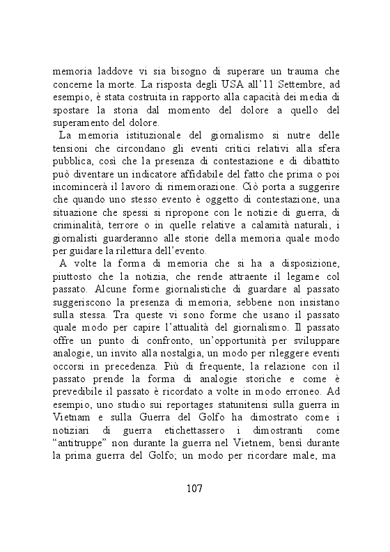 Anteprima della tesi: Carta stampata e memoria pubblica. Analisi delle stragi che hanno cambiato il mondo, Pagina 7