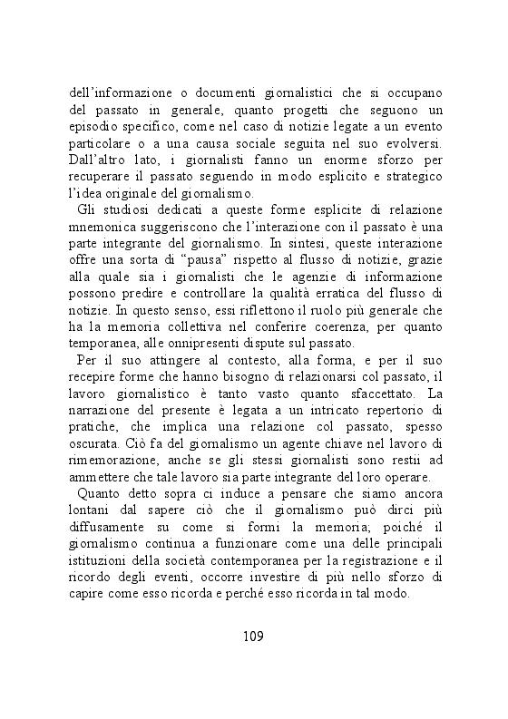 Anteprima della tesi: Carta stampata e memoria pubblica. Analisi delle stragi che hanno cambiato il mondo, Pagina 9
