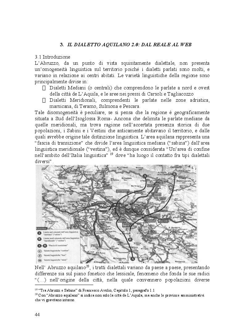 Anteprima della tesi: Ventitré secondi. I riflessi di una catastrofe naturale sul linguaggio di una comunità locale, Pagina 2
