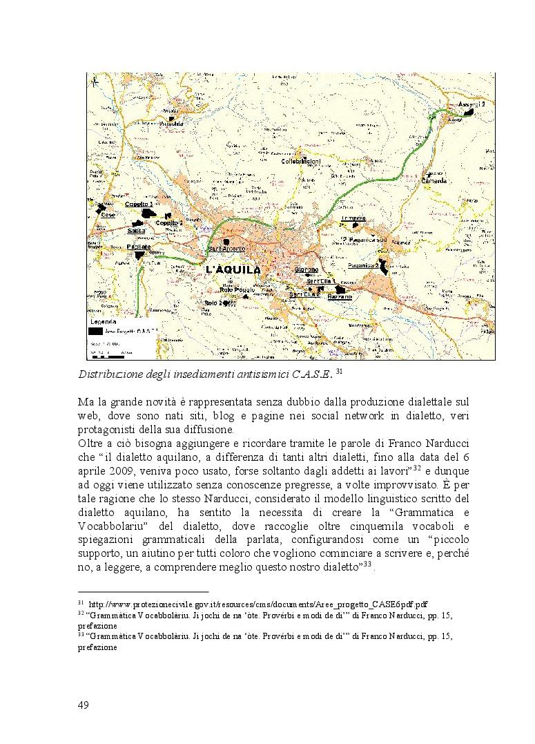 Anteprima della tesi: Ventitré secondi. I riflessi di una catastrofe naturale sul linguaggio di una comunità locale, Pagina 7