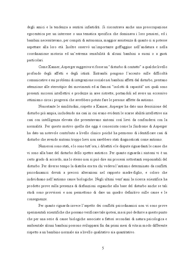 Anteprima della tesi: Il Disturbo dello Spettro Autistico: comunicare nell'incomunicabilità attraverso le immagini, Pagina 4