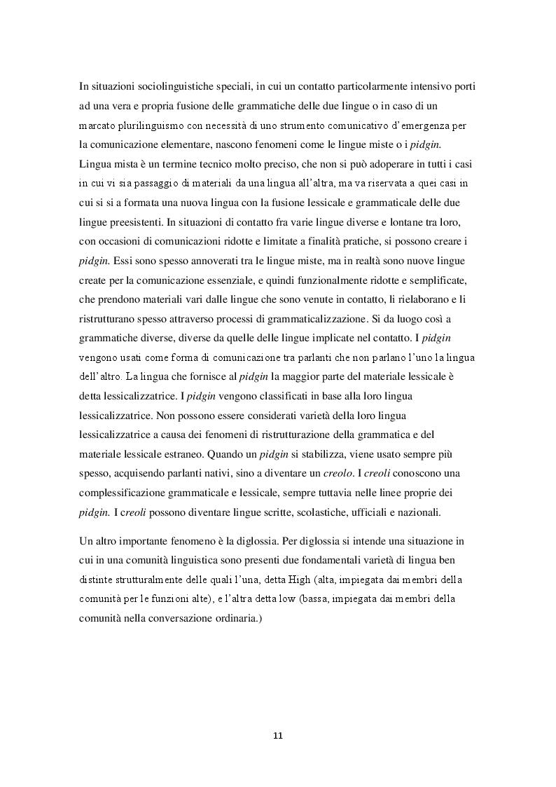 Estratto dalla tesi: Lo spanglish in letteratura