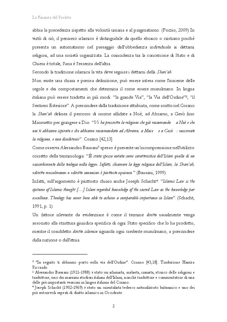 Anteprima della tesi: La Finanza del Profeta. Un mercato inesplorato, Pagina 6