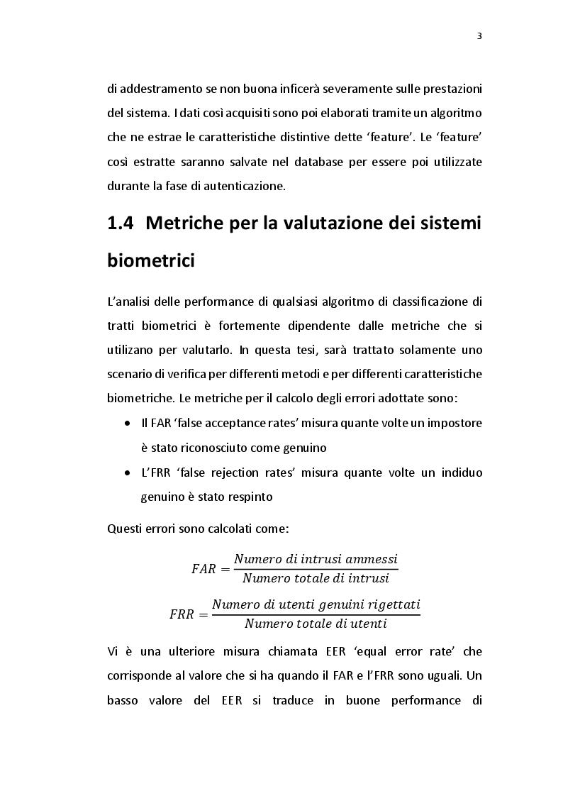 Anteprima della tesi: Verifica dell'identità tramite elettrocardiogramma e impronta digitale, Pagina 4