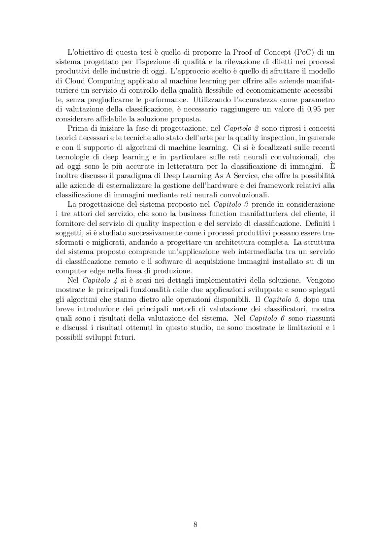Anteprima della tesi: Progettazione e sviluppo di una Metodologia Data-Driven di Quality Inspection nel contesto dell'Industria 4.0, Pagina 3