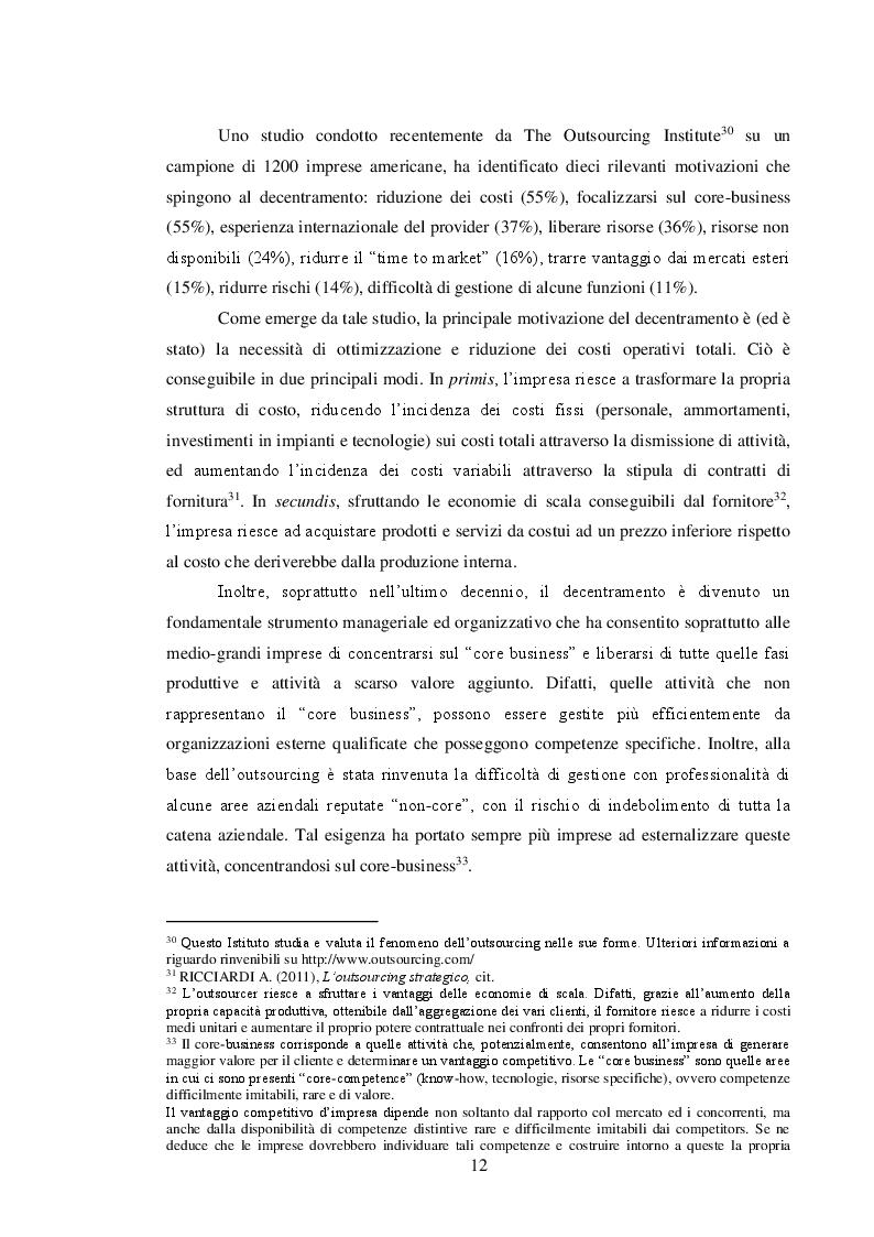 Estratto dalla tesi: Il sistema delle tutele e il regime di responsabilità nei rapporti interpositori