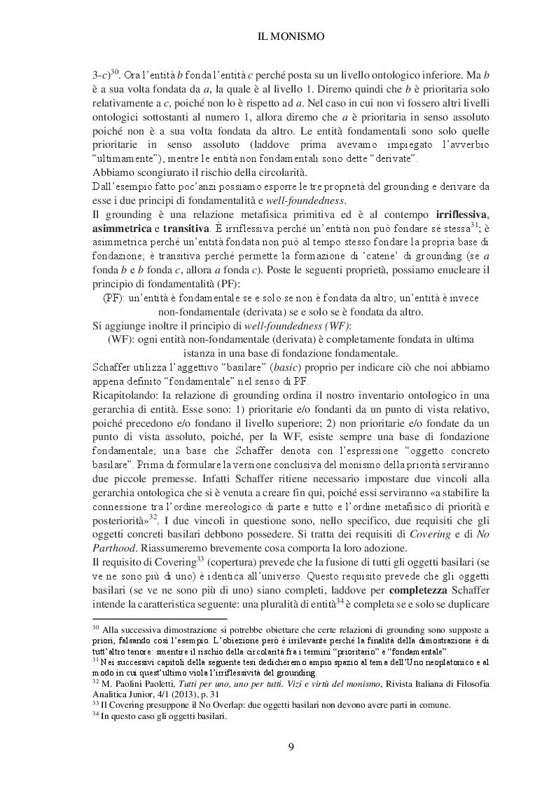 Estratto dalla tesi: Il paradiso disabitato. Aporie e paradossi del monismo neoplatonico da Plotino a Eriugena