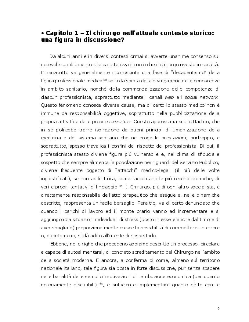 Anteprima della tesi: La ''formazione'' come nuova responsabilità per un direttore di struttura complessa di area chirurgica, Pagina 4