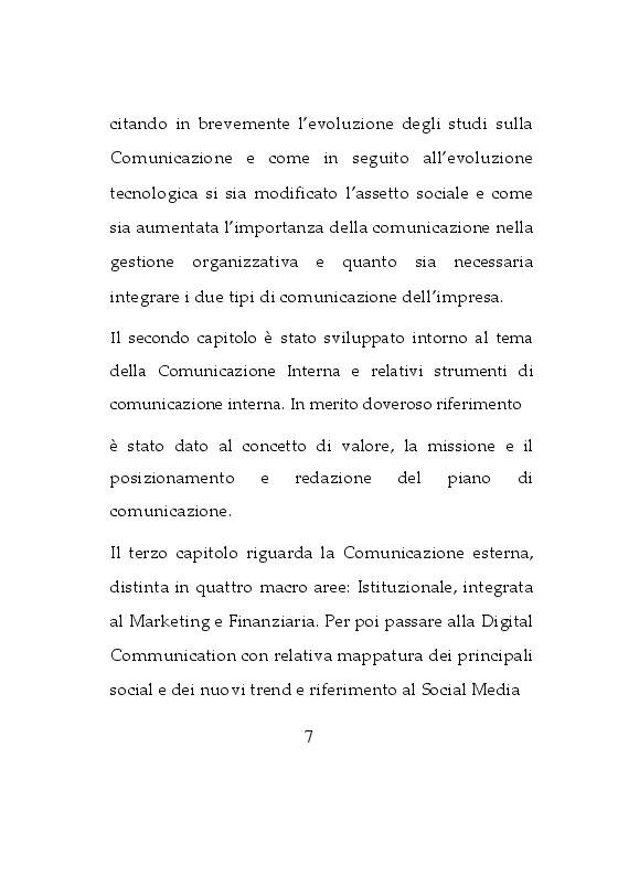 Anteprima della tesi: Da osservatrice ad influencer: Esperienza sulla Comunicazione d'Impresa su Instagram, Pagina 4