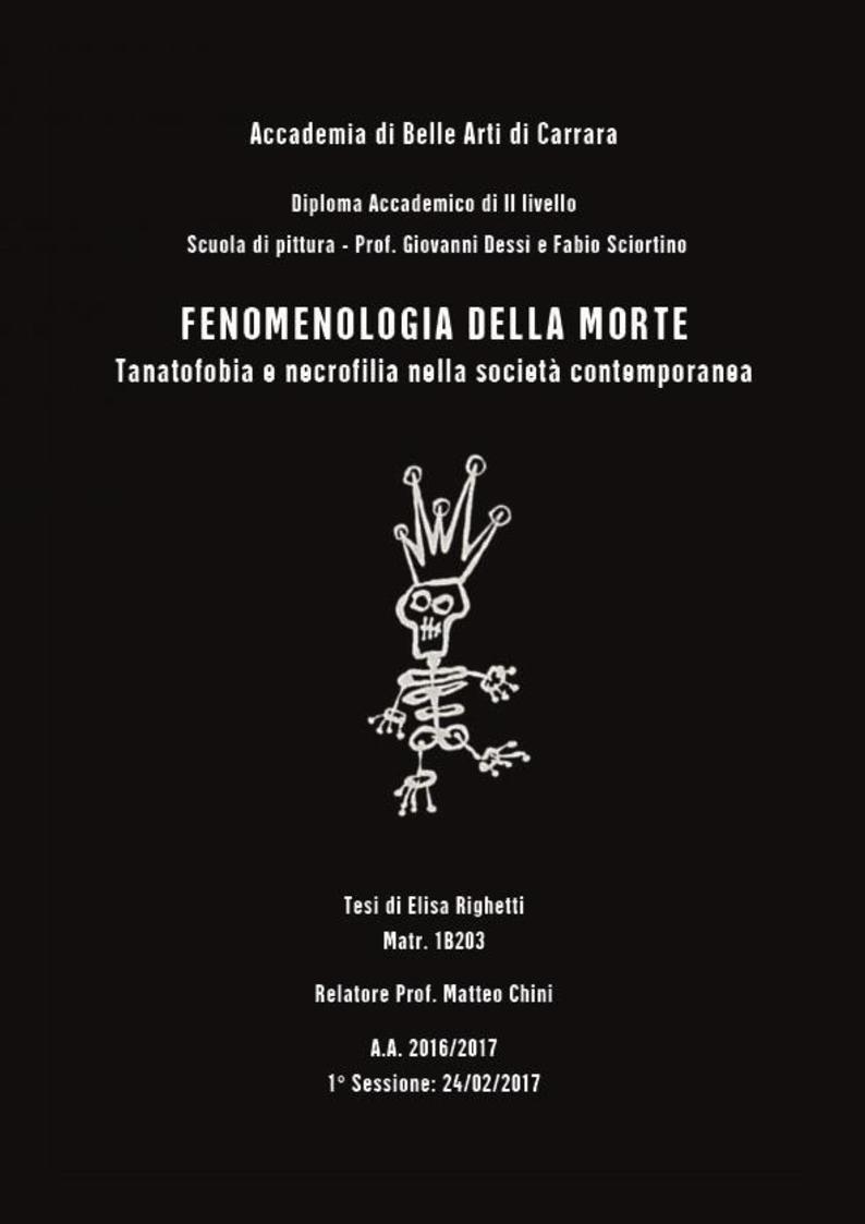 Anteprima della tesi: Fenomenologia della morte, tanatofobia e necrofilia nella società contemporanea, Pagina 1