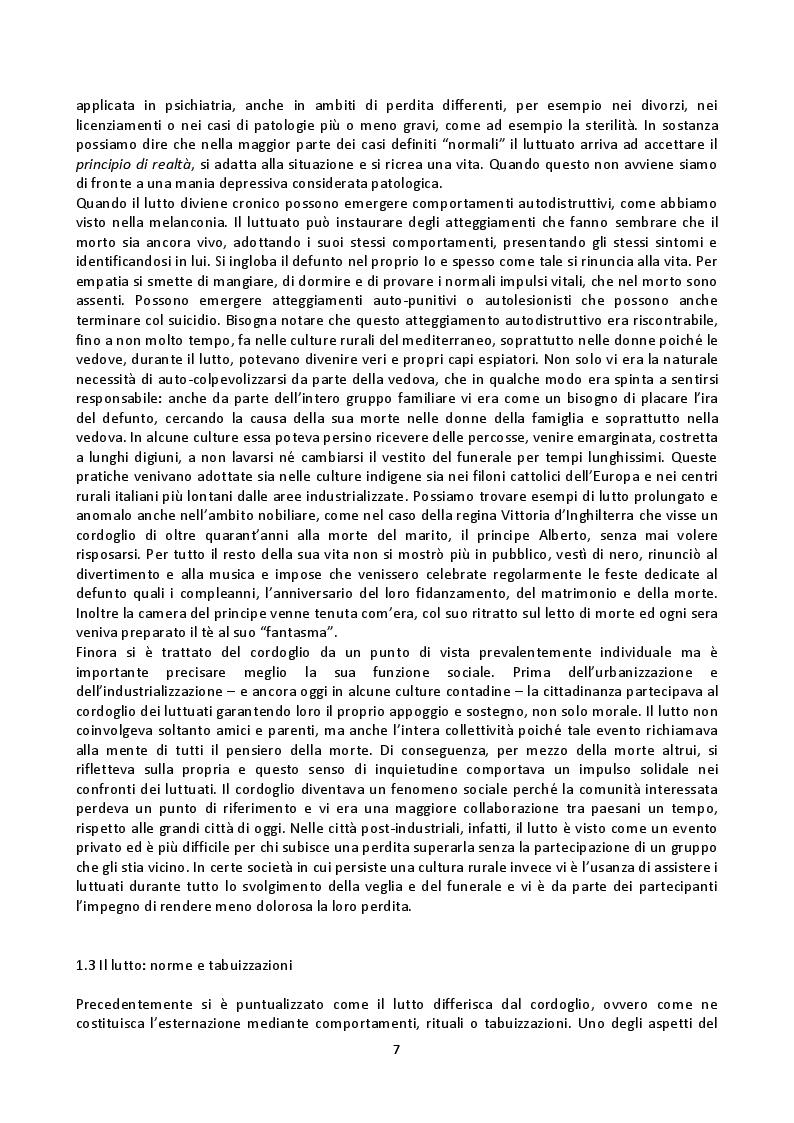 Anteprima della tesi: Fenomenologia della morte, tanatofobia e necrofilia nella società contemporanea, Pagina 5