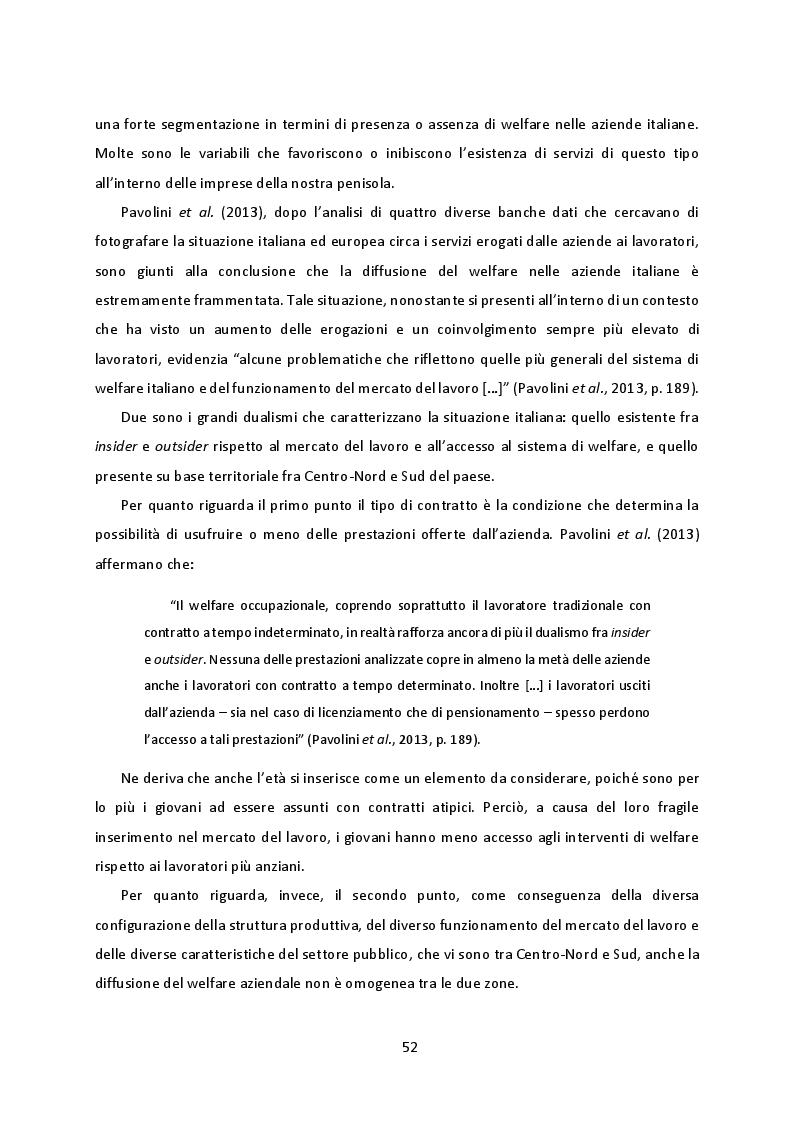Anteprima della tesi: Welfare Aziendale e Contrattazione di Secondo Livello. Il caso delle aziende milanesi del terziario, Pagina 3