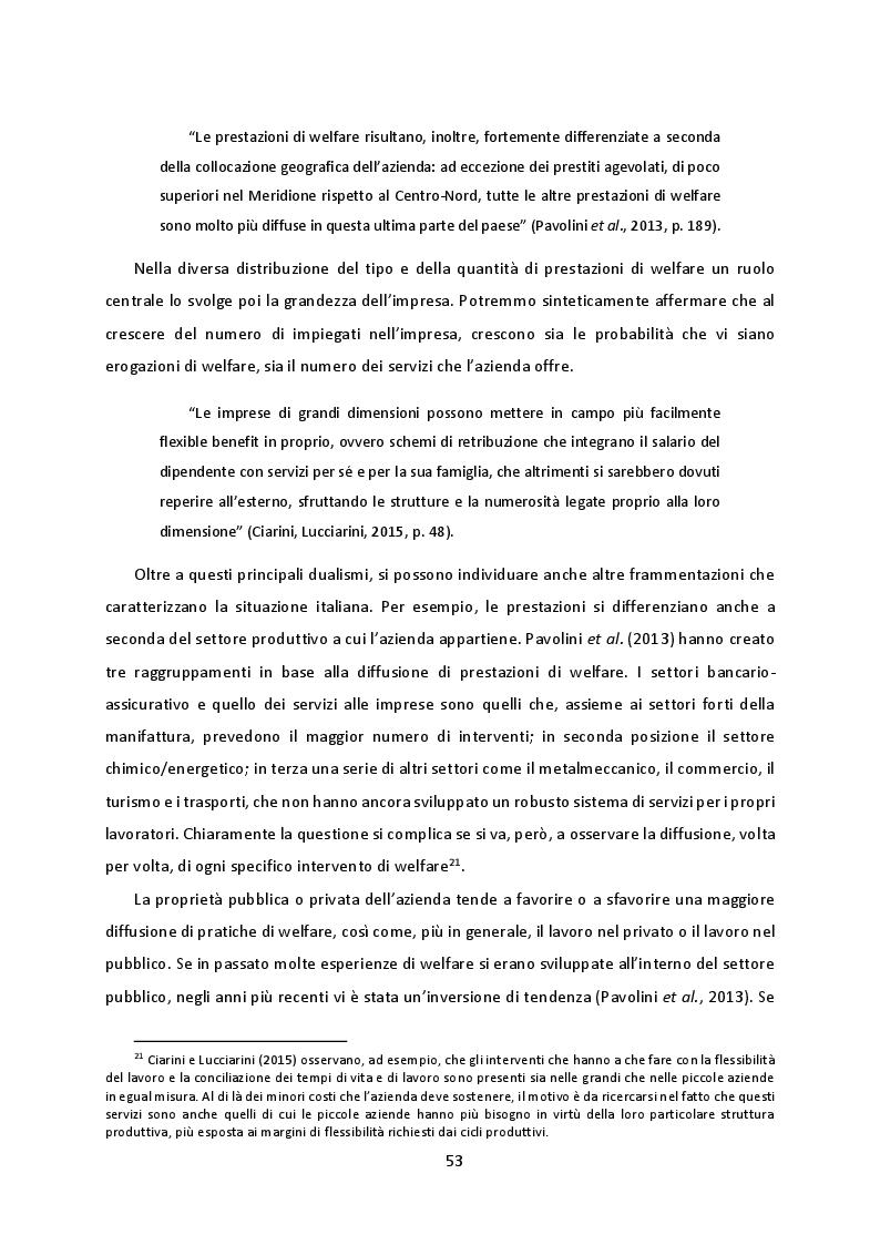 Anteprima della tesi: Welfare Aziendale e Contrattazione di Secondo Livello. Il caso delle aziende milanesi del terziario, Pagina 4