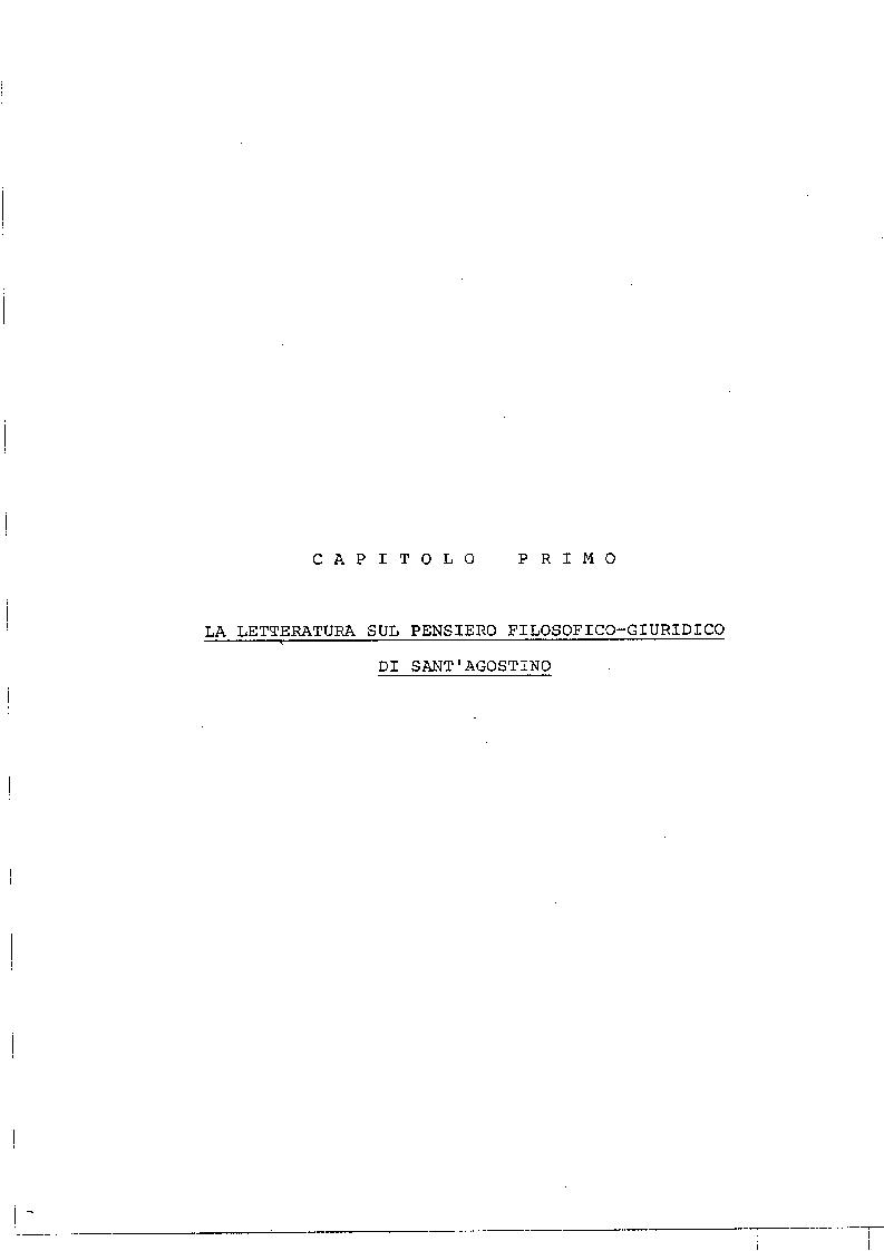 Anteprima della tesi: Il concetto di giustizia giuridica in Sant'Agostino, Pagina 2