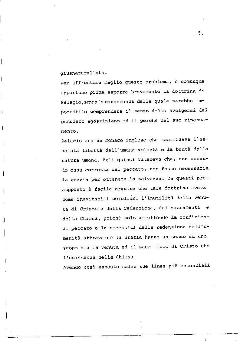 Anteprima della tesi: Il concetto di giustizia giuridica in Sant'Agostino, Pagina 4