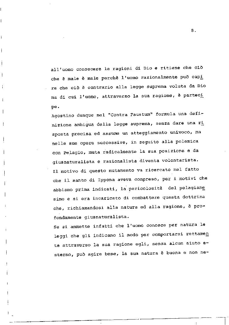 Anteprima della tesi: Il concetto di giustizia giuridica in Sant'Agostino, Pagina 7