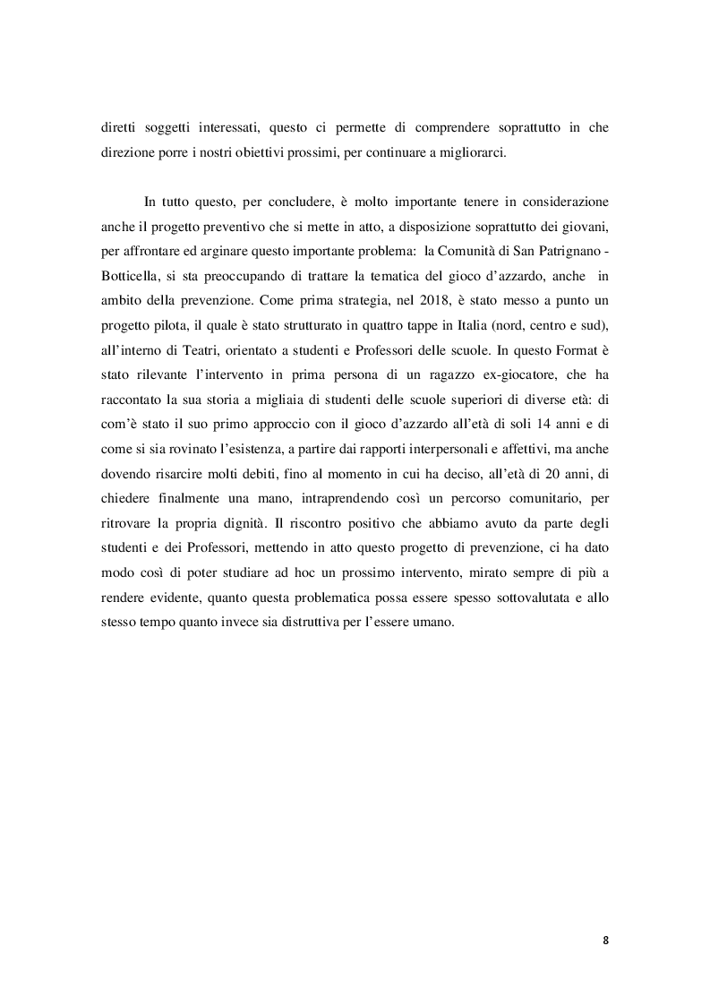 Anteprima della tesi: Disturbo da Gioco d'azzardo dall'Adolescenza all'età Adulta, Pagina 6